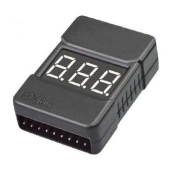 Звуковой индикатор напряжения 2s-8s BX100