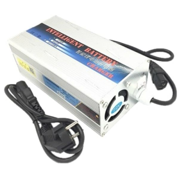Зарядное устройство LiFePO4 96V с переключателем 5A/10A
